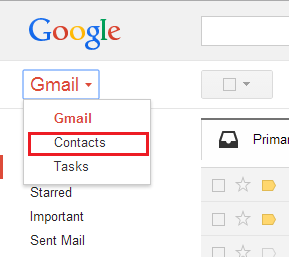 Gmail-Contact-restore