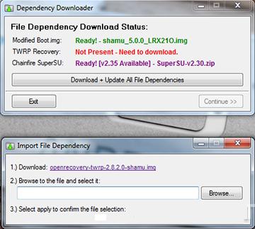 Nexus_racine_toolkit_logiciel_manquant