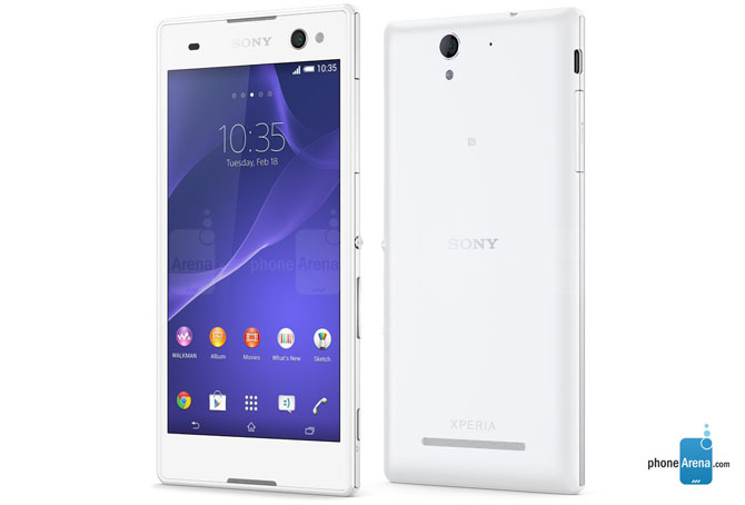 android lollipop xperia c3 and t2 ultra