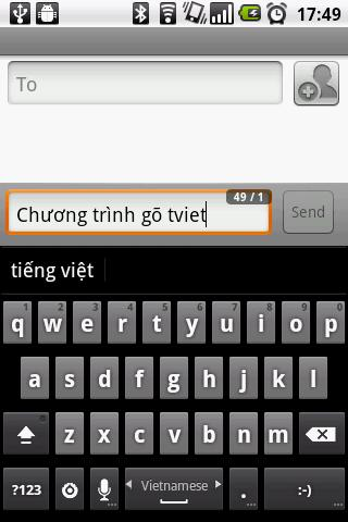 go tieng viet cho Android