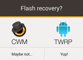 ClockworkMod Recovery va TWRP Recovery cho Galaxy Note 3