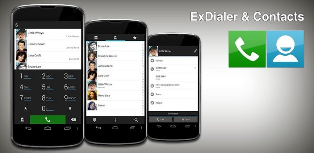 ExDialer Contacts