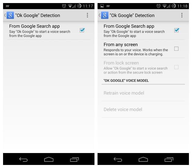 Ok-Google-Detection