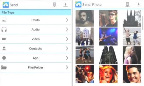 Send-Anywhere-type-file