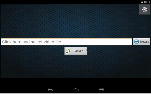 convert video to mp3 for android