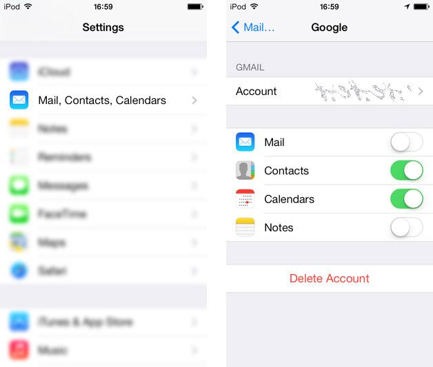 settings mail ios iphone