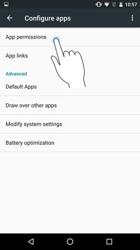 Go-to-App-permissions