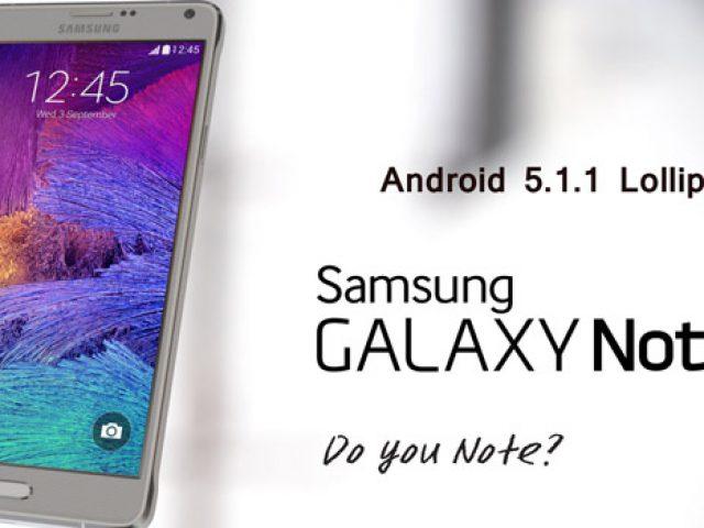 Cài đặt Android 5 1 1 Lollipop cho Note 4 SM-N910T nhà mạng T-Mobile