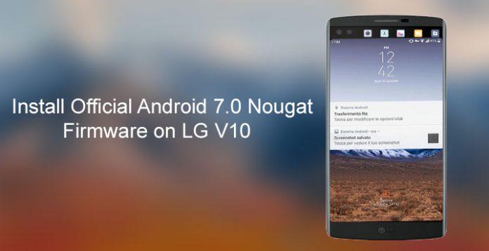 Cài đặt bản Android 7 0 Nougat mới nhất chính thức cho LG